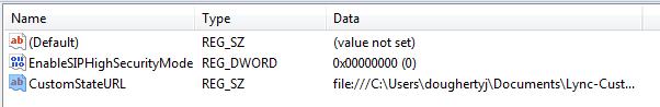 Lync-State-Registry